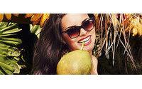 Адриана Лима в новой рекламной кампании Vogue Eyewear