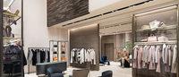 マックス マーラ青山店がリニューアル 巨大デジタルサイネージを設置