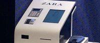 Zara практикует самообслуживание