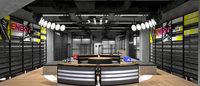 アディダスの新型店 スポーツスピリット訴求する「ホームコート」初上陸