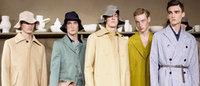 Première journée de la fashion week masculine à Paris