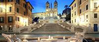 Joalheria Bulgari financia reforma de escadaria em Roma