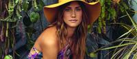 Florinda traz tropicalismo para a temporada