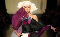 Gaultier: Kimono deconstruction for the 21st century