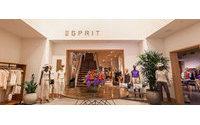 Esprit vuelve a los beneficios en el primer semestre