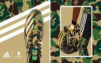 Le football américain au coeur d'une collaboration entre Adidas et BAPE