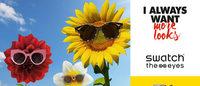 Swatch se associa à italiana Safilo para lançar óculos de sol