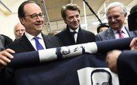 Troyes : l'usine Petite Bateau a reçu la visite de François Hollande