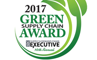 "Tyco Retail Solutions gewinnt dank Hartetiketten den 2017 ""Green Supply Chain Award"""