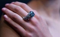 Rare blue diamond goes under hammer in Geneva for $17 million
