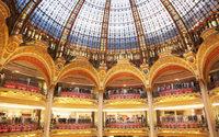 Les grands magasins parisiens du boulevard Haussmann restent confinés