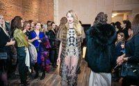 Alexandra Serova презентовала коллаборацию с брендом Lale Furs в Москве