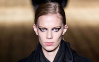Glossy skin and metallic eyeshadow: the top beauty looks from Paris Fashion Week so far