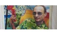 Russie: une marque vend des tee-shirts à l'effigie de Poutine