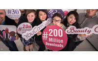 Beauty app developer reaches 200 million downloads