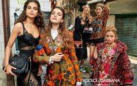 Millenials na nova campanha de inverno da Dolce & Gabbana