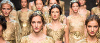 Antiquity inspires Dolce & Gabbana in Milan collection
