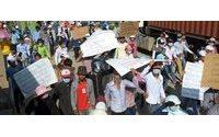 Camboya: nueva oleada de protestas de los trabajadores del sector textil