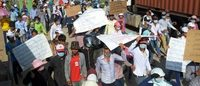 Cambodia: new wave of garment worker strikes