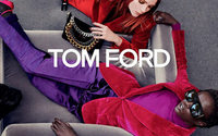 Anok Yai and Mariacarla Boscono star in Tom Ford's latest campaign