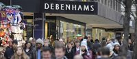 Debenhams boss says new austerity fears put brake on spending