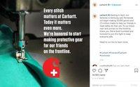 Carhartt lance la production de 50 000 tenues pour les soignants américains