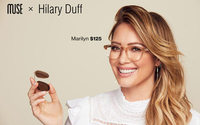 Hilary Duff launches eyewear collection