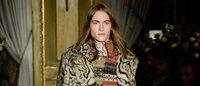 """El estilo """"boho"""" de Roberto Cavalli inauguró la Semana de la Moda de Milán"""