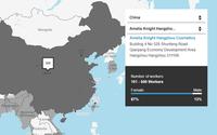 Primark publie une cartographie de tous ses fournisseurs textiles