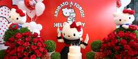 Hello Kitty comemora aniversário com exposição e nova coleção na Riachuelo