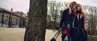 Anja Rubik et Julia Stegner de retour chez Chloé pour la campagne automne-hiver