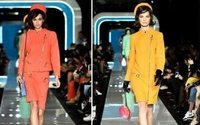 Moschino does retro-futurism