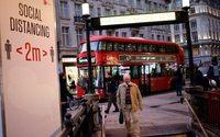 Le confinement fait tanguer l'économie britannique à l'orée de 2021