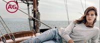 AG: la Top model Daria Werbowy fa il bis per la P/E 2015