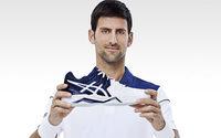 Asics fait appel à Novak Djokovic