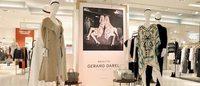 Gérard Darel a installé un pop-up store aux Galeries Lafayette Haussmann