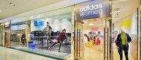 阿迪达斯在华开设女子专卖店