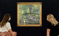 Le tableau de Banksy parodiant les Nymphéas de Monet adjugé à 7,6 millions de livres