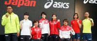 アシックスがリオ五輪日本代表ユニフォーム発表、桜がモチーフに