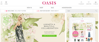 Oasis and Warehouse launch new websites