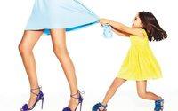 Aquazzura запускает детскую линию обуви