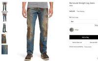 Nordstrom продает «грязные» джинсы