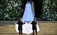 Givenchy sous la lumière lors du mariage princier