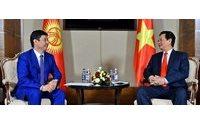 Киргизия рассчитывает на вьетнамские инвестиции в текстильную отрасль