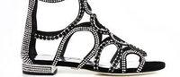 Loriblu: un sandalo in edizione limitata con oltre 6000 Swarovski Elements