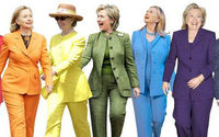 Clinton fans unite in 'Pantsuit Nation'
