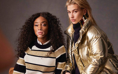 Winnie Harlow and Hailey Baldwin named Tommy Hilfiger global