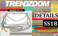 Trendzoom: Design Forecast Accessories bags & belts S/S 18