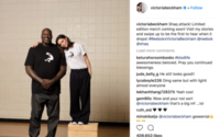 ​Victoria Beckham teases Reebok line with Shaquille O'Neal hook-up