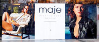 Maje comes knocking on the door of luxury